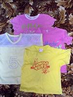 Отдается в дар Пакет одежды для девочки, рост 122