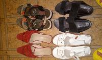 Отдается в дар Летняя обувь 37 размер