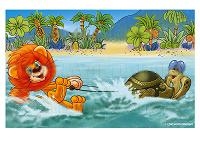 Отдается в дар Открытка мультфильм «Как львёнок и черепаха пели песню».