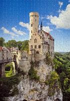 Отдается в дар Пазл «Замок Лихтенштайн» (500 кусочков)