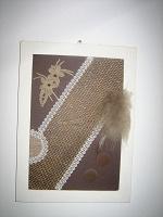 Отдается в дар Еще две картины из меха и пуха.