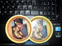 Отдается в дар Декоративные тарелочки с мадонной