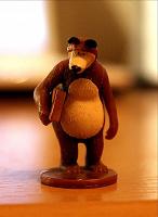 Отдается в дар Медведь без Маши из киндера?