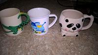Отдается в дар Детские чашки