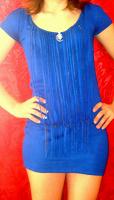 Отдается в дар Синее мини платьеце
