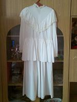 Отдается в дар платье белое-ретро