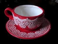 Отдается в дар Чайная пара «Зимняя ягода»