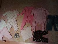 Отдается в дар Детская одежда на 3-6 мес, для девочки