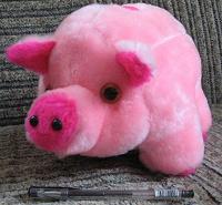 Отдается в дар Свинья плюшевая