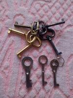Отдается в дар ключи для коллекции