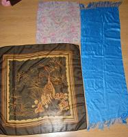 Отдается в дар Платки-шарфики