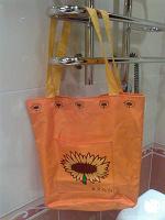 Отдается в дар Подсолнечно-оранжевая сумка