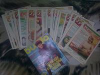 Отдается в дар много много журналов с рецептами