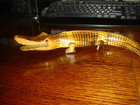 Отдается в дар Деревянный крокодил :))