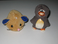 Отдается в дар Игрушки: заяц, мышь, пингвин