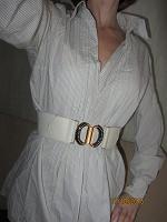 Отдается в дар Оригинальная блузка с длинным рукавом х/б