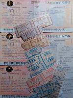 Отдается в дар Транспортные билеты для коллекционера