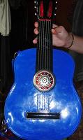 Отдается в дар Сумка в виде гитары