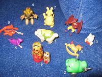 Отдается в дар Мелкие игрушки с косяками и без