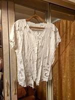 Отдается в дар Белая блузка, 50-52