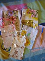 Отдается в дар Дизайнерский сумочки для подарков