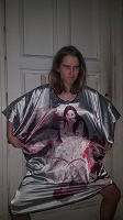 Отдается в дар Китайский женский халат для дома 52-54 р-р
