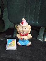 Отдается в дар резиновый клоун