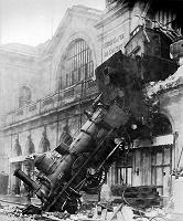 Отдается в дар Плакат «Крушение поезда»