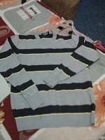 Отдается в дар мужские свитера и майка
