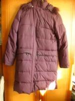 Отдается в дар Пальто-пуховик SAVAGE на 42-44 размер