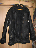 Отдается в дар Кожаная мужская куртка