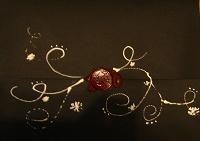 Отдается в дар Сургучная печать на письме от Деда Мороза