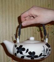 Отдается в дар Фарфоровый чайничек для чайной церемонии