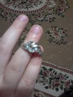 Отдается в дар Серебряное кольцо.