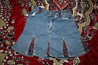 Отдается в дар Джинсовая юбка для пятилетней девочки