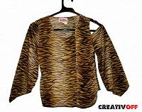 Отдается в дар Тигровая блузка для девочки