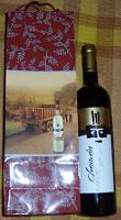 Отдается в дар Сухое красное вино Chaman