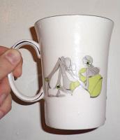 Отдается в дар Чашка фарфоровая