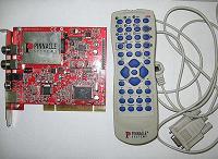 Отдается в дар ТВ и ФМ тюнер Pinnacle PCTV Pro