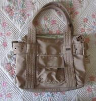 Отдается в дар Бежевая сумка