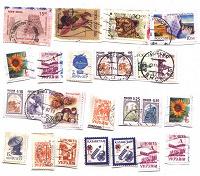 Отдается в дар марки со старых конвертов
