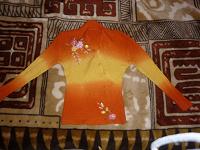 Отдается в дар Оранжевая кофта =)