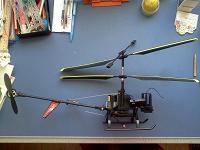 Отдается в дар Останки от радиоуправляемого большого вертолета