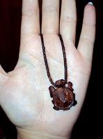 Отдается в дар Деревянная черепашка