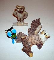 Отдается в дар СОВА, три совы с отколами