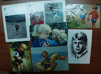 Отдается в дар открыточки с лицами