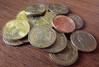 Отдается в дар Памятные монеты — Сталь с латунным гальваническим покрытием:)