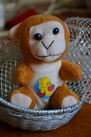 Отдается в дар Немного странная обезьянка. :)