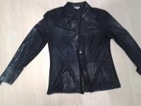 Отдается в дар рубашка женская 44-46 черная с золотом
