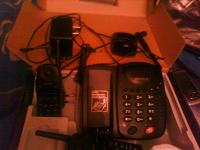 Отдается в дар Радиотелефон — по моему так называется. В коробке.